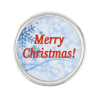 メリークリスマス! 英語のメリークリスマス。 rf ラペルピン