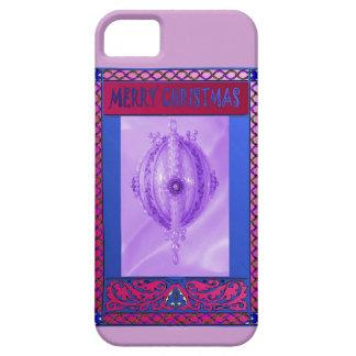 メリークリスマス、薄紫のつまらないもの iPhone SE/5/5s ケース