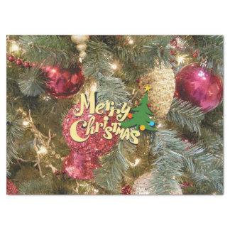 メリークリスマス 薄葉紙