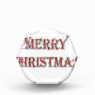メリークリスマス 表彰盾