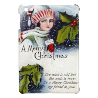 メリークリスマス、詩 iPad MINIケース