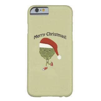 メリークリスマス! 連続したアーティチョーク BARELY THERE iPhone 6 ケース