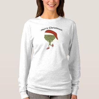 メリークリスマス! 連続したアーティチョーク Tシャツ