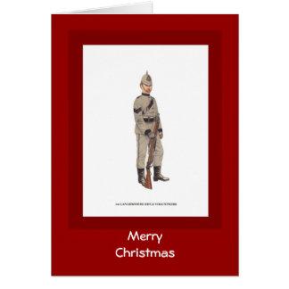 メリークリスマス、11st Lanarkshireのライフルのボランティア カード