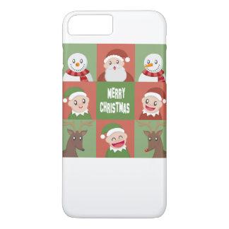 メリークリスマス iPhone 8 PLUS/7 PLUSケース