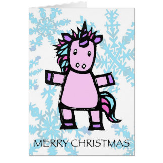 メリークリスマス- uriユニコーン カード