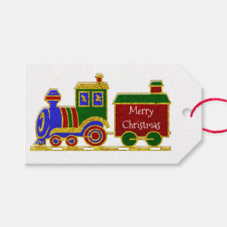 メリークリスマスChoo Choo ギフトタグ