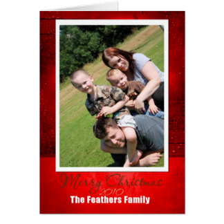 メリークリスマスFam 2010年 カード