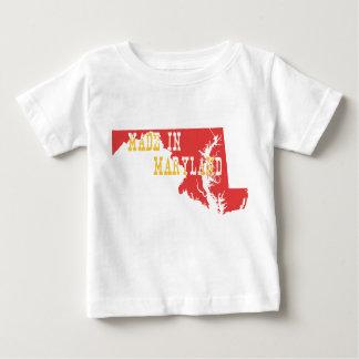メリーランドで作られる ベビーTシャツ