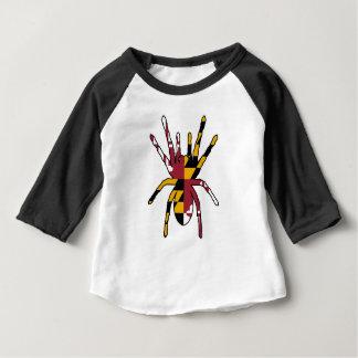 メリーランドのくも ベビーTシャツ