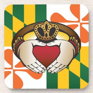 メリーランドのアイルランド人のCladdaghの旗 コースター