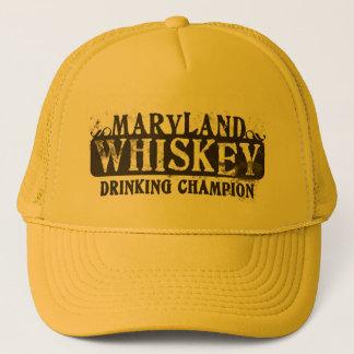 メリーランドのウィスキーの飲むチャンピオン キャップ