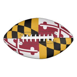 メリーランドのフラグフットボール- 2パネル アメリカンフットボール