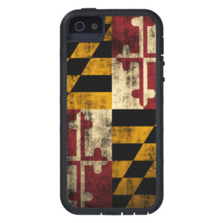 メリーランドのヴィンテージのグランジな旗 iPhone SE/5/5s ケース