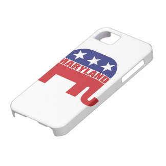 メリーランドの共和党員象 iPhone SE/5/5s ケース