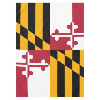 メリーランドの州の旗のお祝いのデザイン テーブルクロス