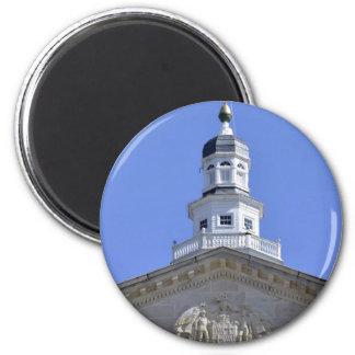 メリーランドの州議会議事堂のドーム マグネット