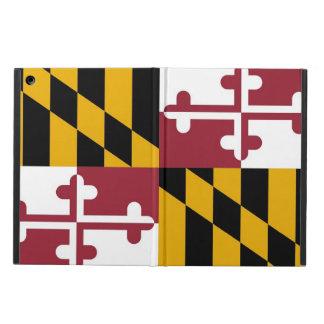 メリーランドの旗との愛国心が強いipadの場合 iPad airケース