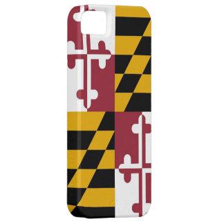 メリーランドの旗とのIPhone 5の場合 iPhone SE/5/5s ケース