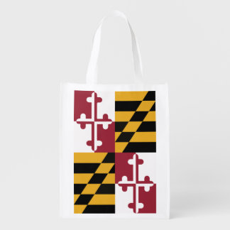 メリーランドの旗のエコバッグ エコバッグ