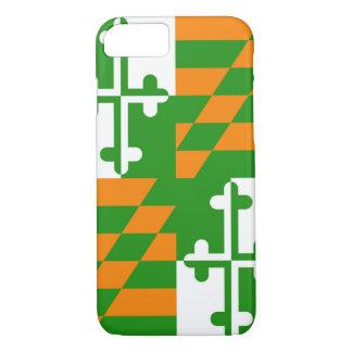 メリーランドの旗のIphoneの幸運な場合 iPhone 8/7ケース