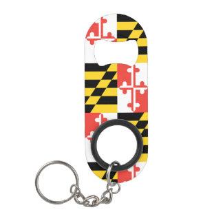 メリーランドの旗のKeychainの栓抜き キーホルダー ボトルオープナー