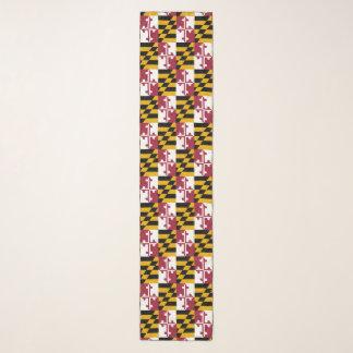 メリーランドの旗パターン スカーフ