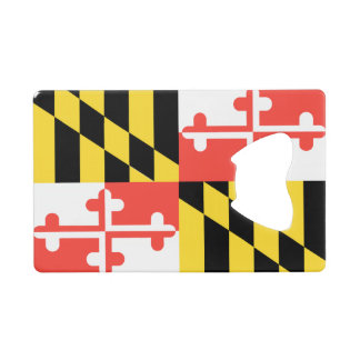 メリーランドの旗 ウォレット 栓抜き