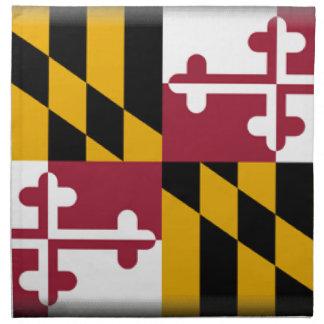 メリーランドの旗 ナプキンクロス