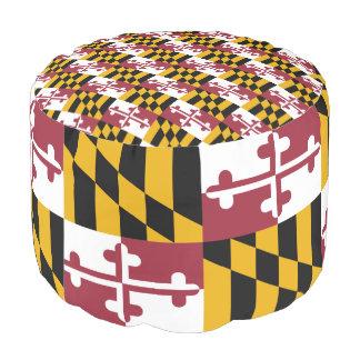 メリーランドの旗 プーフ