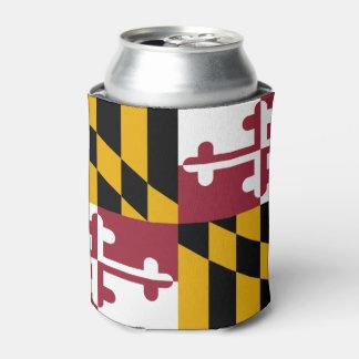 メリーランドの旗、米国州の旗 缶クーラー
