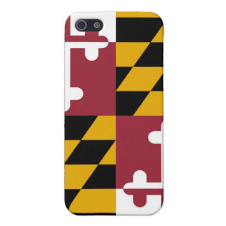 メリーランドの旗 iPhone SE/5/5sケース