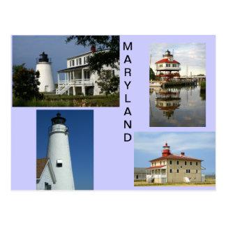 メリーランドの灯台 ポストカード