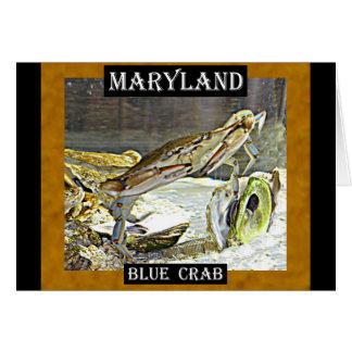 メリーランドの青カニ カード