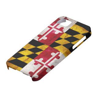 メリーランドの風化させた旗 iPhone SE/5/5s ケース