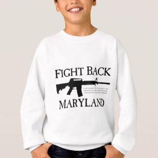 メリーランドを戦って下さい スウェットシャツ
