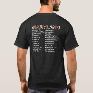 メリーランド郡コンサートのスタイルのワイシャツ Tシャツ