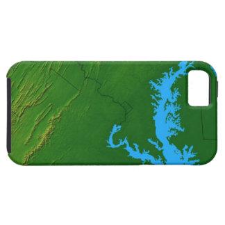 メリーランド2の地図 iPhone SE/5/5s ケース