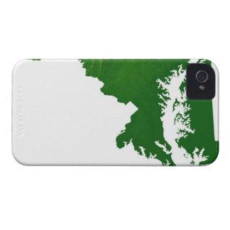メリーランド3の地図 Case-Mate iPhone 4 ケース