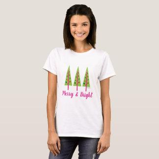メリー及び明るい Tシャツ