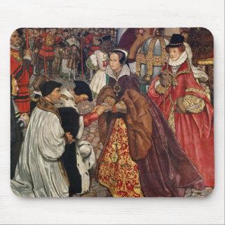 メリー女王およびプリンセスエリザベスの入ること マウスパッド