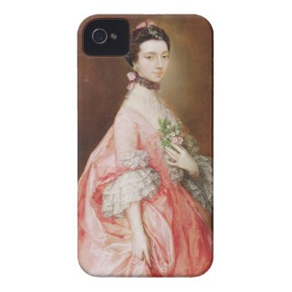 メリー少しのCarr (キャンバスの油)より遅い女性 Case-Mate iPhone 4 ケース