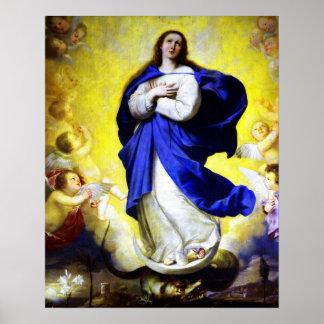 メリー5ポスターのVirgin Immaculate Heart私達の女性 ポスター