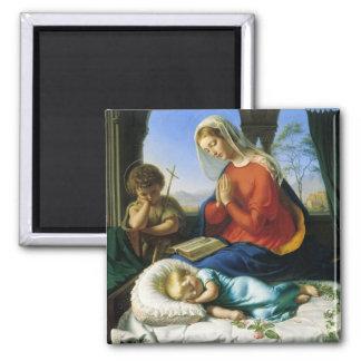 メリー、イエス・キリスト、及び洗礼者ヨハネの磁石 マグネット