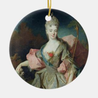 メリーJosephine DrummondのCastelblの伯爵婦人女性 陶器製丸型オーナメント