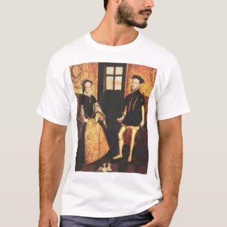 メリーTudorおよびフィリップII Tシャツ