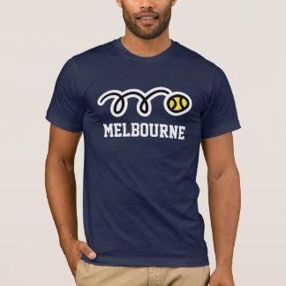 メルボルンのテニスのTシャツの男性への女性及び子供 Tシャツ