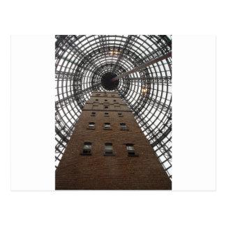メルボルンの中央歴史的な打撃タワー ポストカード