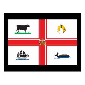 メルボルンの旗 ポストカード