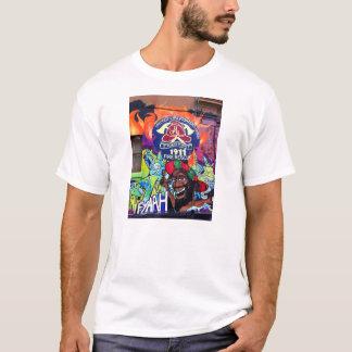 メルボルンの通りの芸術/落書きのTシャツ Tシャツ